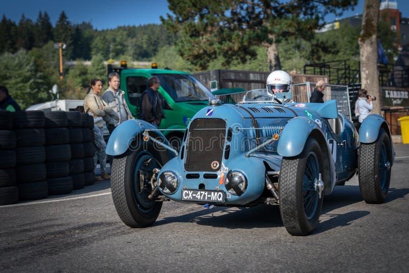 I Spa Francorchamps Spa sex timmar motoriska tävlings- legender arkivbild