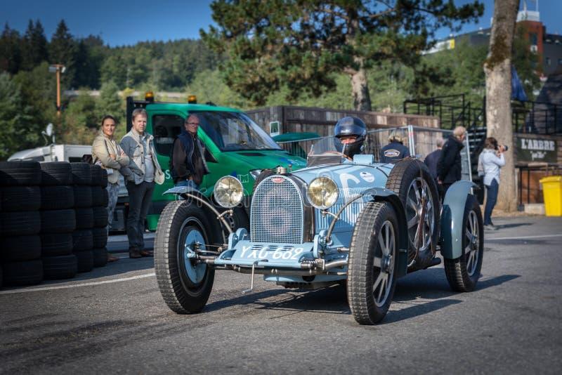 I Spa Francorchamps Spa sex timmar motoriska tävlings- legender royaltyfria foton