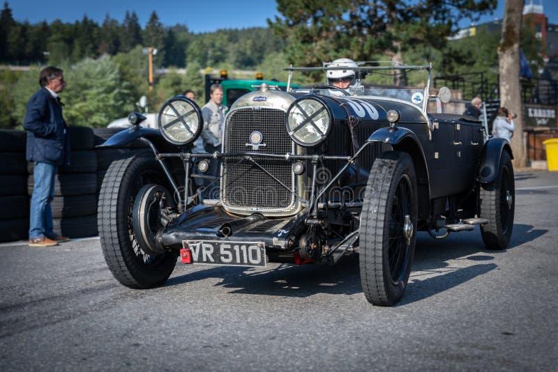 I Spa Francorchamps Spa sex timmar motoriska tävlings- legender arkivfoton