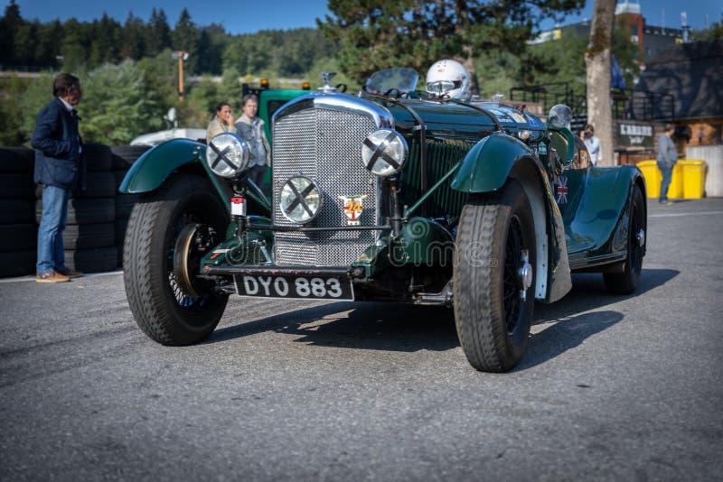 I Spa Francorchamps Spa sex timmar motoriska tävlings- legender arkivbilder