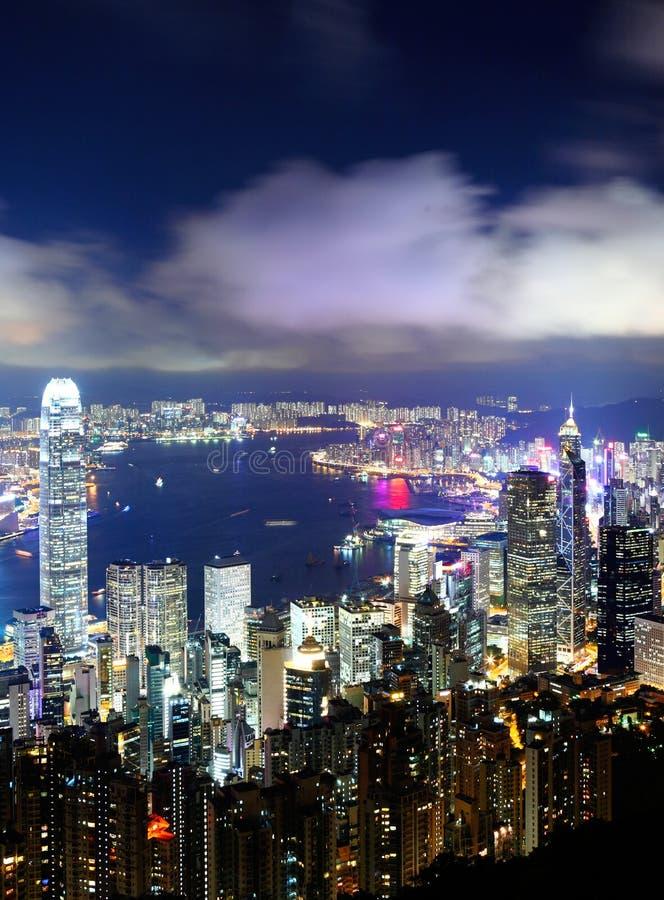 Download I Stadens Centrum Hong Kong Arkivfoto - Bild av landmark, modernt: 27279536