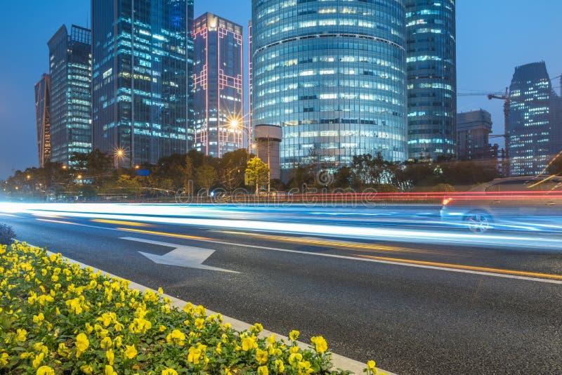 i stadens centrum Hong Kong trafik royaltyfria bilder