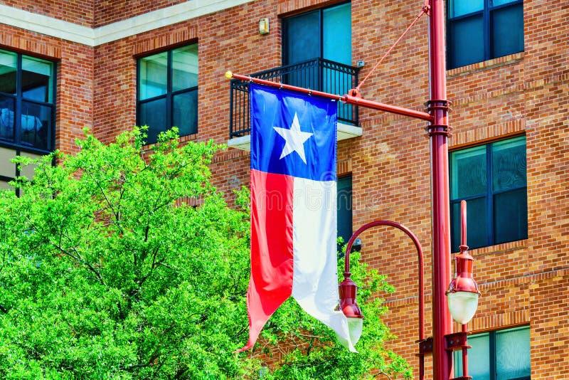 i stadens centrum houston texas arkivbild