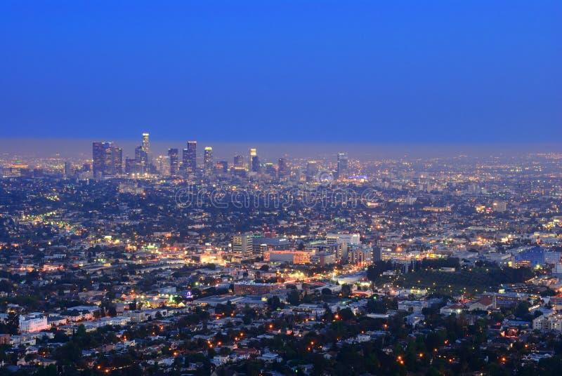 I stadens centrum Los Angeles arkivfoto