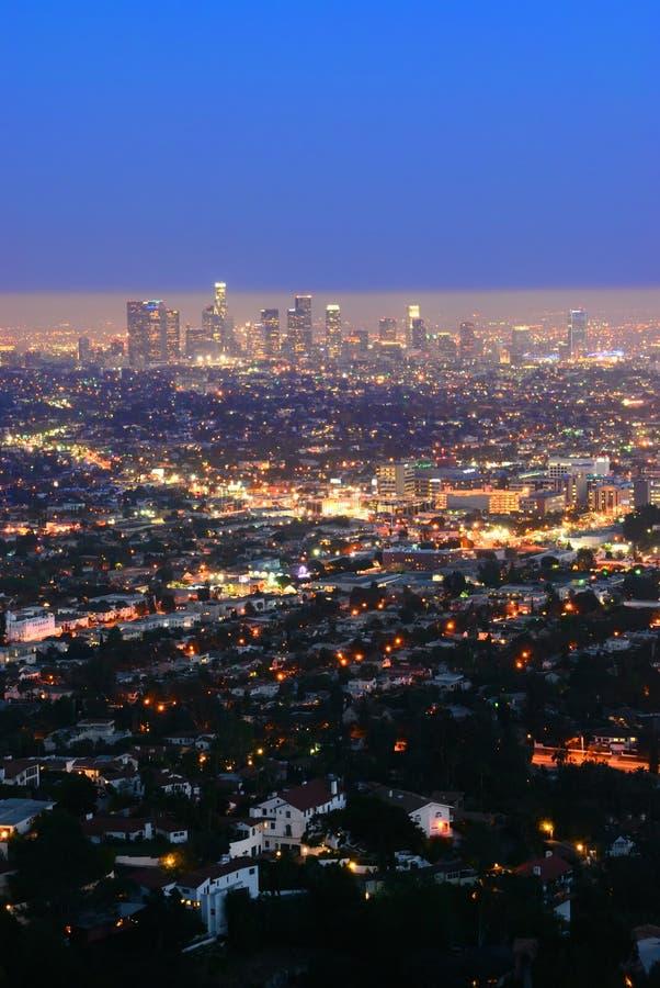 I stadens centrum Los Angeles royaltyfria foton