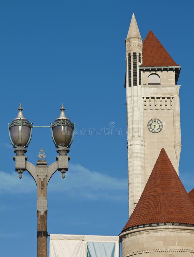 i stadens centrum louis panoramast royaltyfri bild