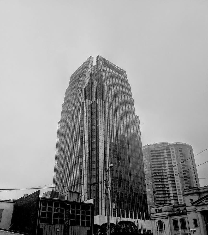 i stadens centrum nashville royaltyfri foto