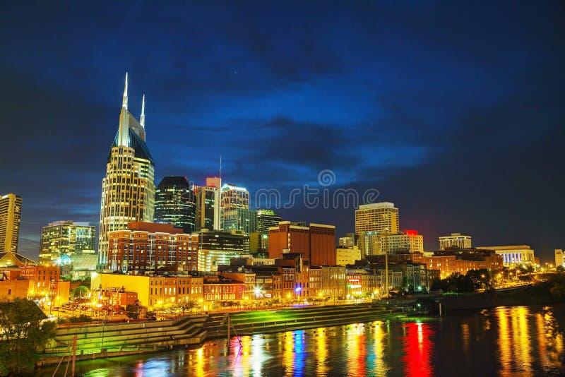 I stadens centrum Nashville, TN royaltyfri foto