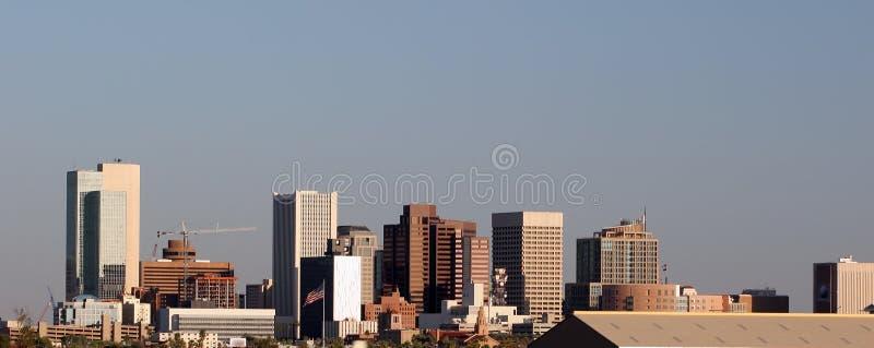 i stadens centrum panorama phoenix royaltyfria foton