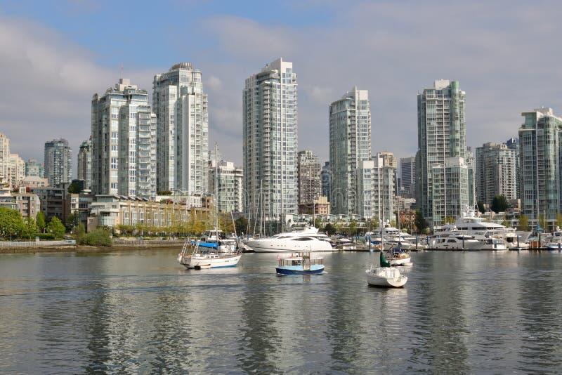 I stadens centrum Vancouver på västkusten för Kanada ` s royaltyfri fotografi