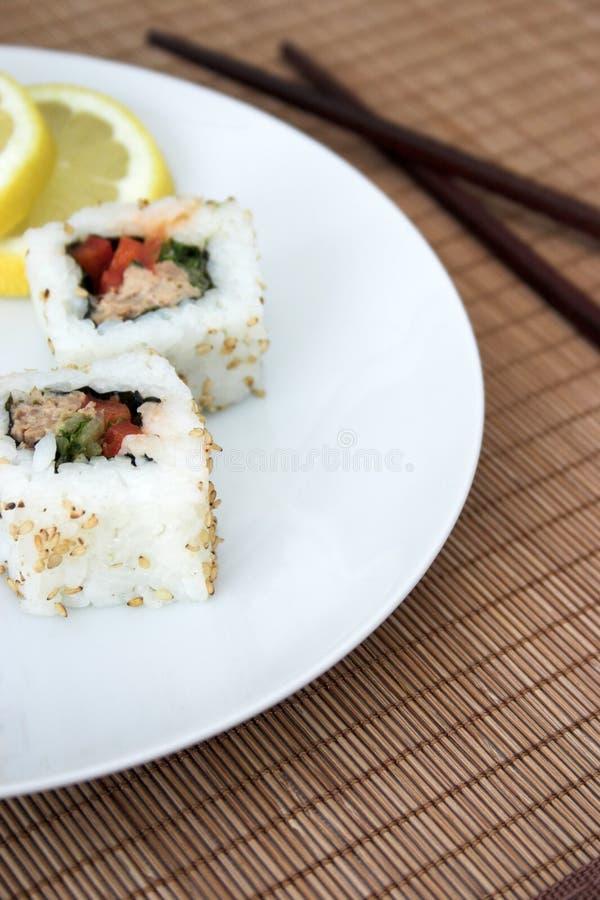 I sushi designano? fotografia stock libera da diritti
