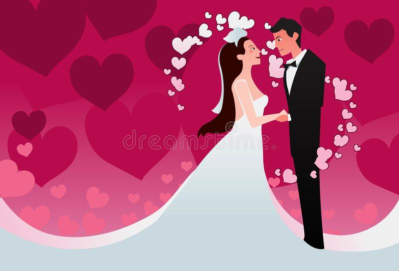 Download I Take You As My Lawfully Wedded Wife Stock Illustration - Image: 12963101