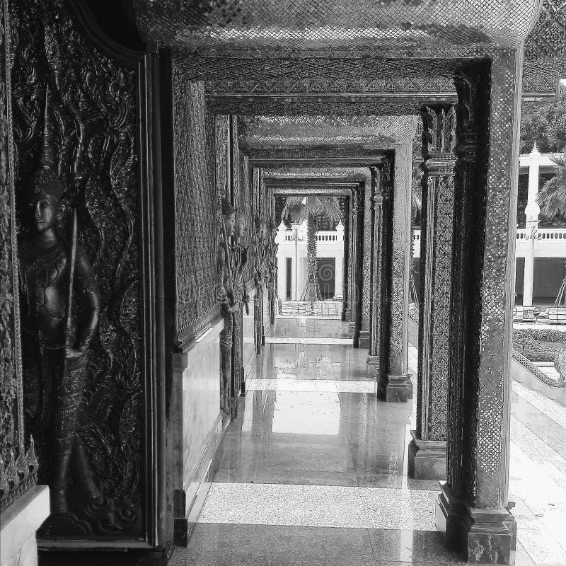 I tempel arkivfoto