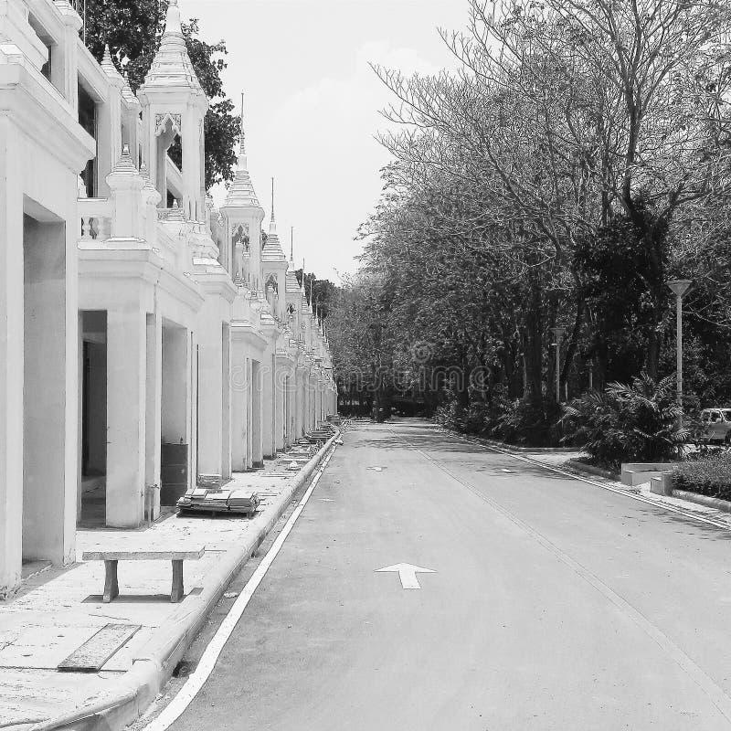 I tempel royaltyfria bilder
