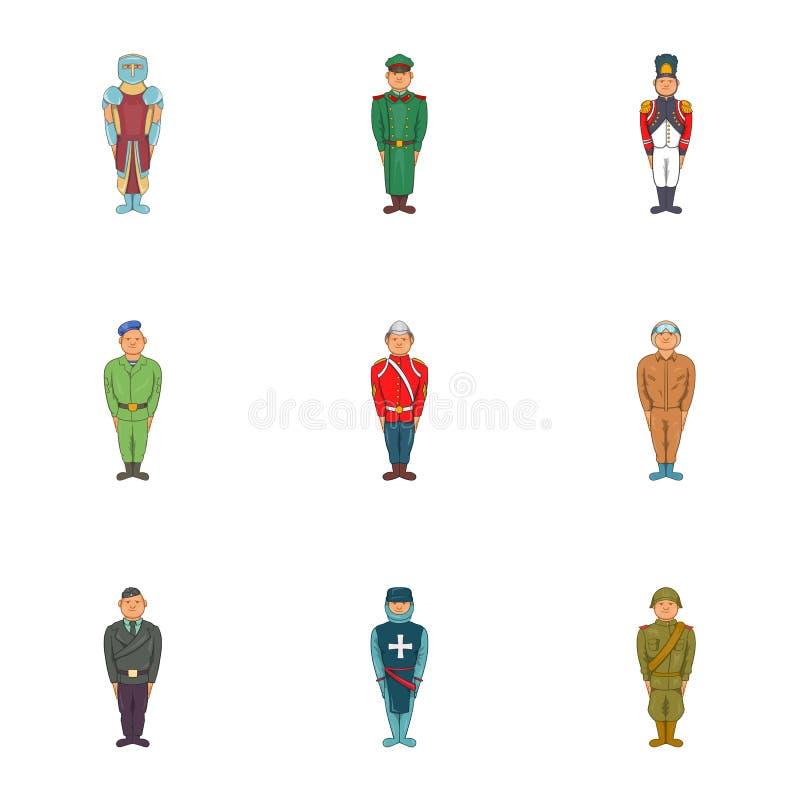 Soldato types ed icone di clipart della classe for Tipi di stile