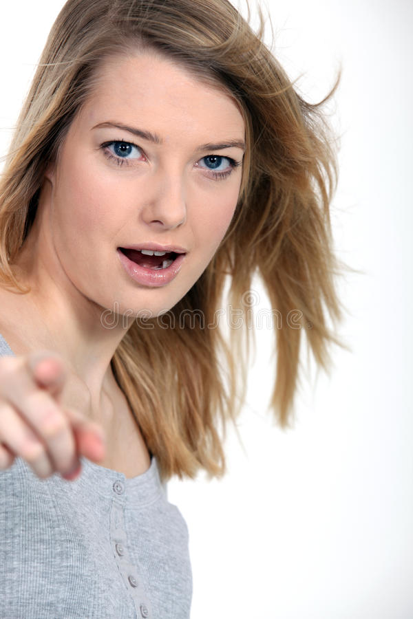 Download I told you so! stock photo. Image of 35, jeer, provoking - 26945196