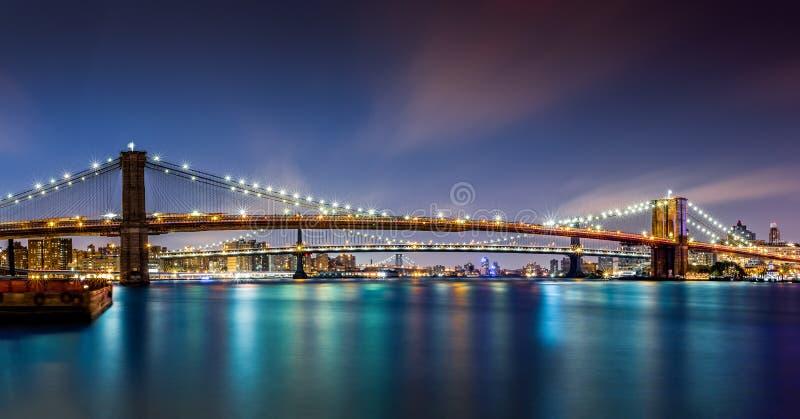 I tre ponti fotografie stock libere da diritti