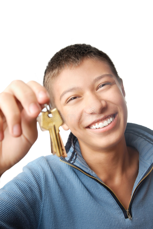 I trust you my keys royalty free stock photo