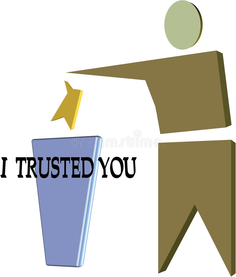 Download I trusted you  pictogram stock illustration. Image of danger - 8587658