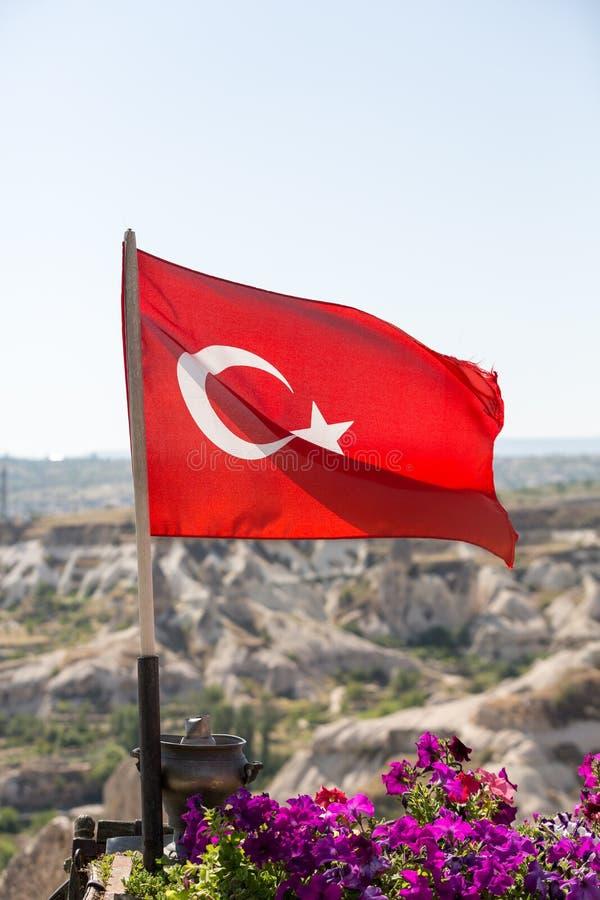 I turco diminuiscono nel parco nazionale di Goreme immagini stock libere da diritti
