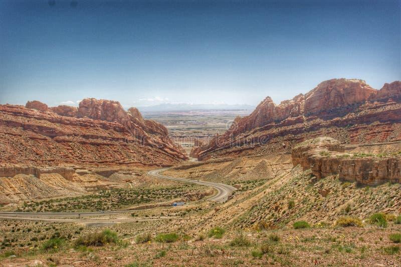 I70 Utah photos libres de droits
