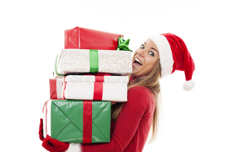 Download I've Brought A Lot Of Of Gifts Stock Image - Image: 33128071