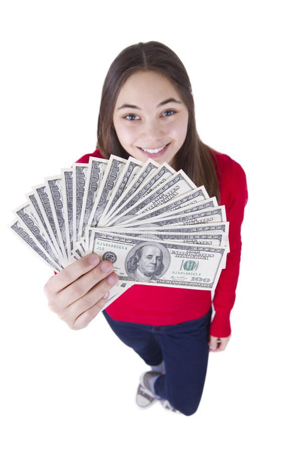 Download I've Got My Tax Money stock image. Image of isolated - 22936123