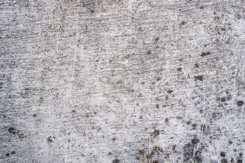 I vecchi ambiti di provenienza di strutture di lerciume, cementano la struttura della superficie di calcestruzzo, i vecchi preced fotografia stock libera da diritti