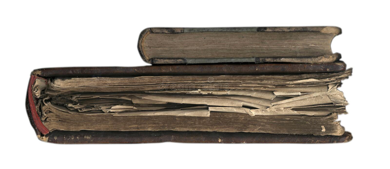 I vecchi libri. fotografie stock libere da diritti