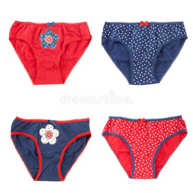 I vestiti della biancheria intima hanno impostato per la neonata immagini stock libere da diritti