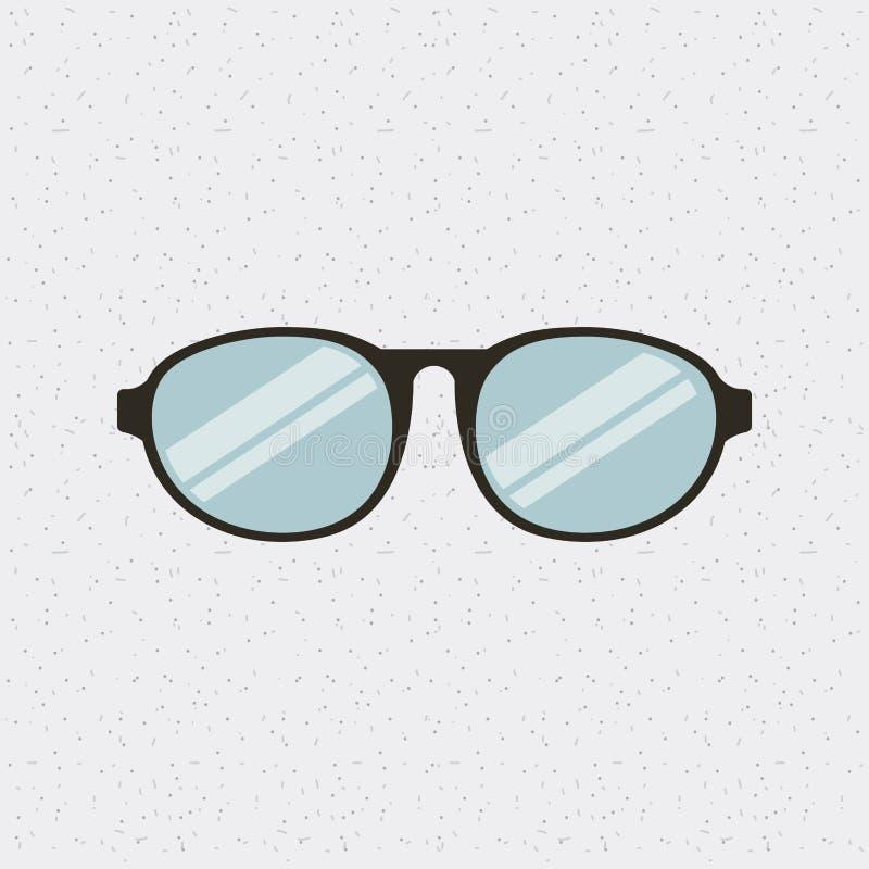 I vetri adattano l'icona isolata royalty illustrazione gratis