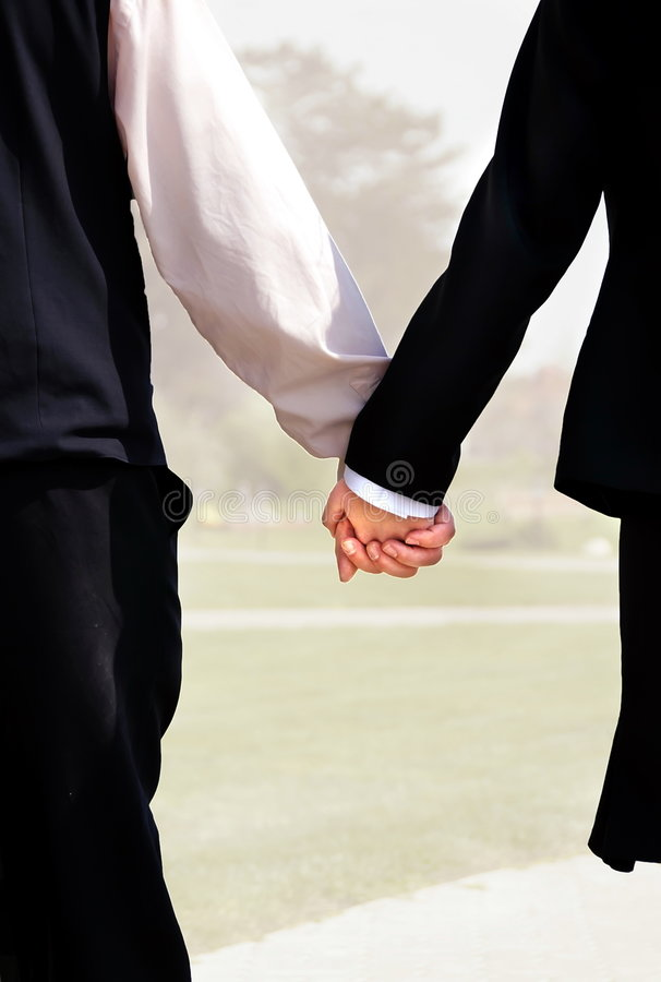 I wanna hold your hand. The respect, emotion towards each other, the love and affection, the connection - shows trough holding each other's hand royalty free stock image