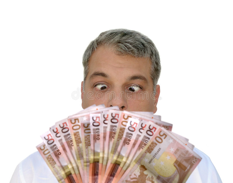 Download I want that money!! stock photo. Image of males, comic, businesspeople - 29822
