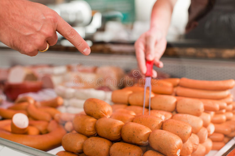 I Want the Sausages stock images