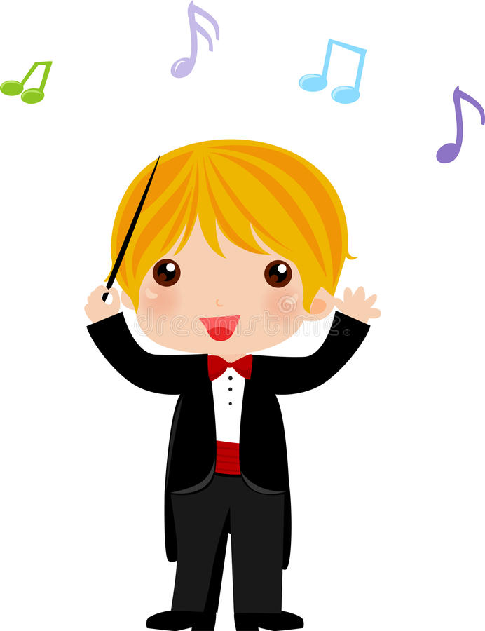 I want to be an orchestra conductor when i grow up