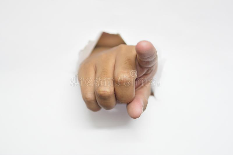 I want you - I choose you - we want you pointing finger stock image