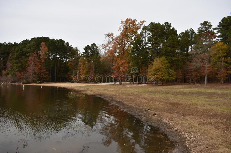 No Named Park In Gilmer Texas Nov 25 2018 Stock Photo
