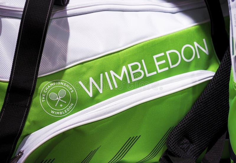I Wimbledon det officiella lagret royaltyfri bild