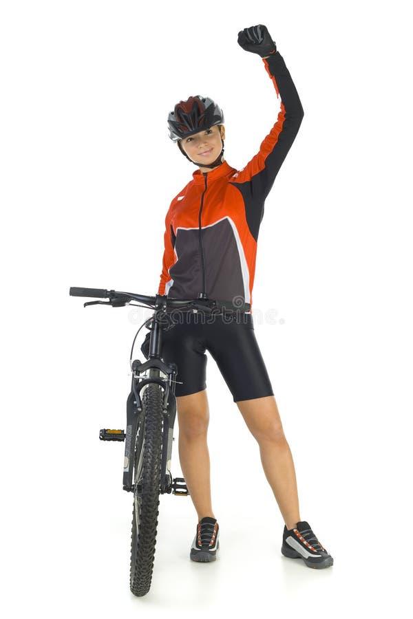 Download I won! stock photo. Image of crummy, isolated, pedal, athlete - 3805572