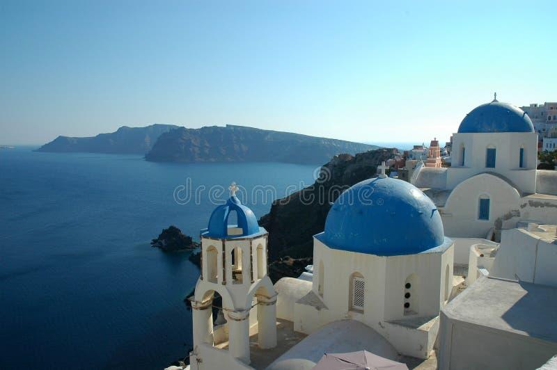 Ia Santorini images stock