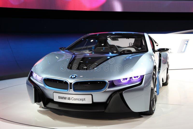 iaa принципиальной схемы i8 автомобиля bmw стоковые фото