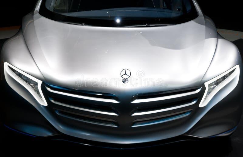 iaa 2011 принципиальной схемы f125 автомобиля benz mercedes стоковое изображение