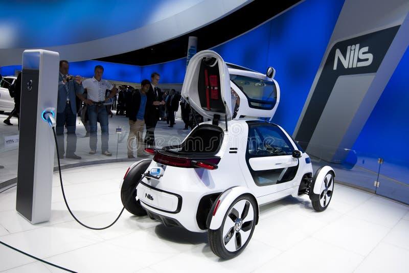 IAA 2011 - Volkswagen-Konzept Nils stockfotos