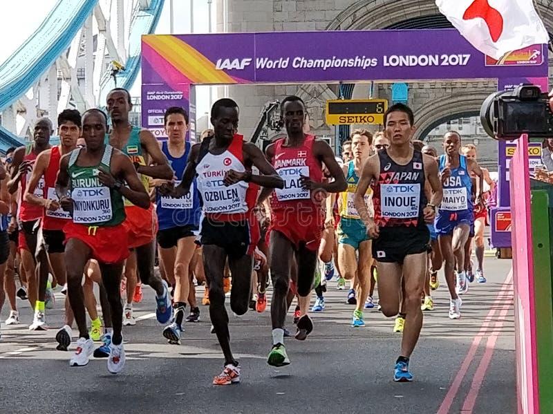IAAF maraton 2017 obraz royalty free