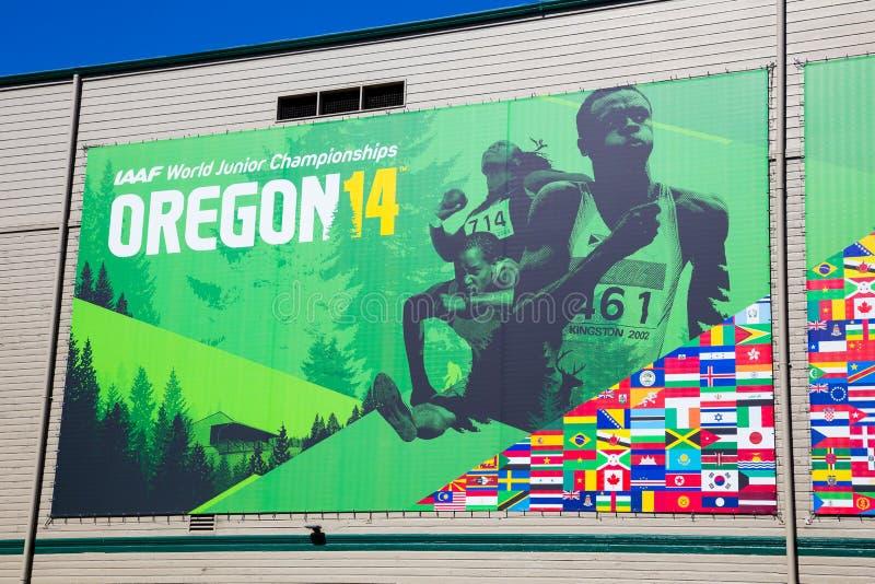 IAAF World Junior Championships royalty free stock photos