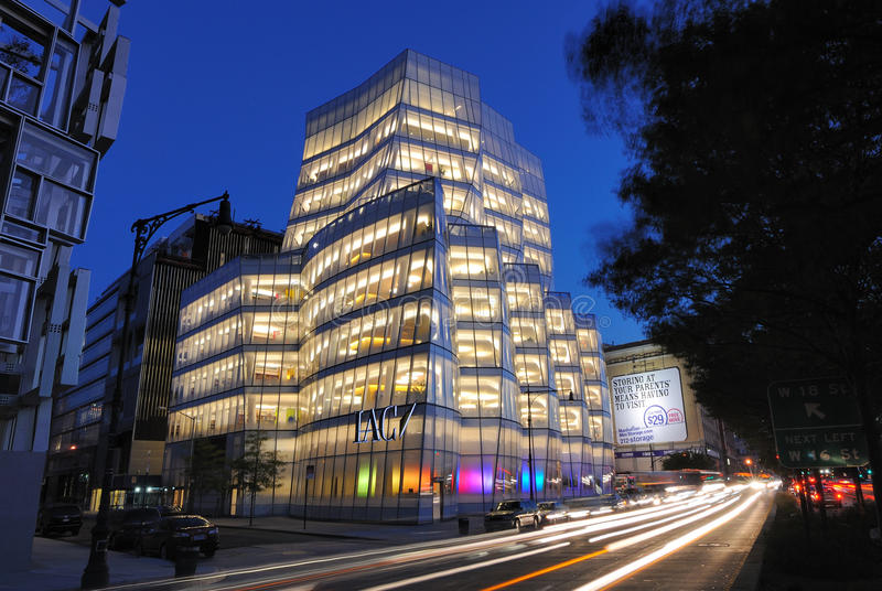Download IAC Building editorial image. Image of chelsea, business - 18728135
