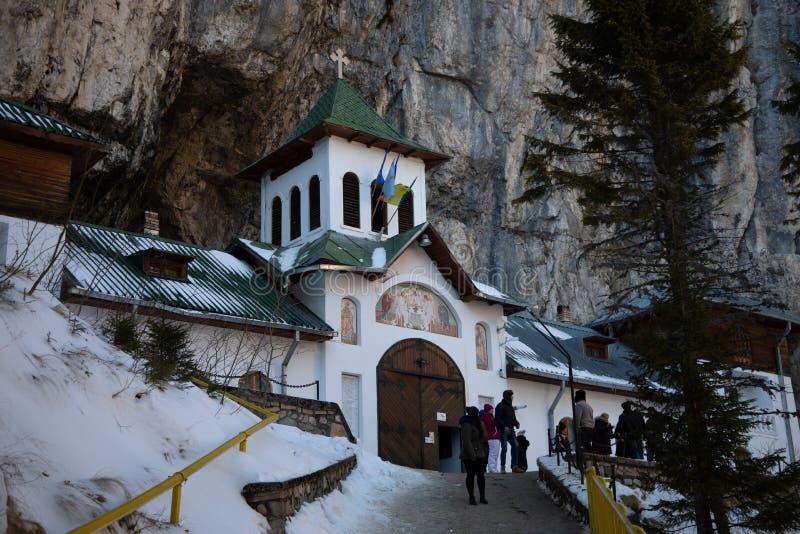 Ialomita monastery - built in sec. XVI royalty free stock photography