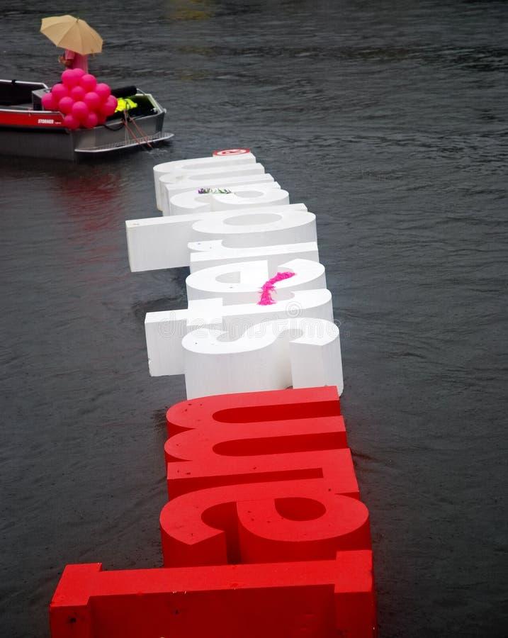Iamsterdam Boot, homosexueller Stolz 2010 lizenzfreies stockfoto