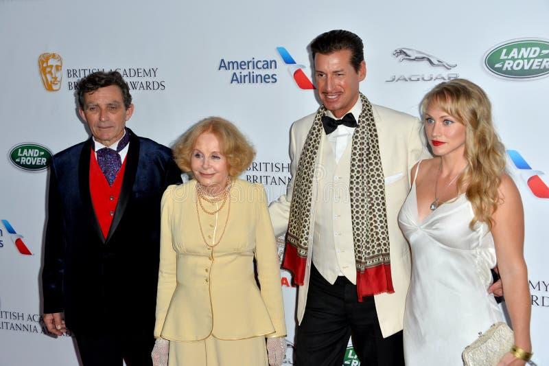 Ian Hollis, Sarah Miles, Francis O'Toole & Kelsey Deanne στοκ φωτογραφία