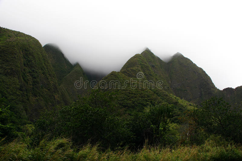Iao Valley State Park royalty free stock photography